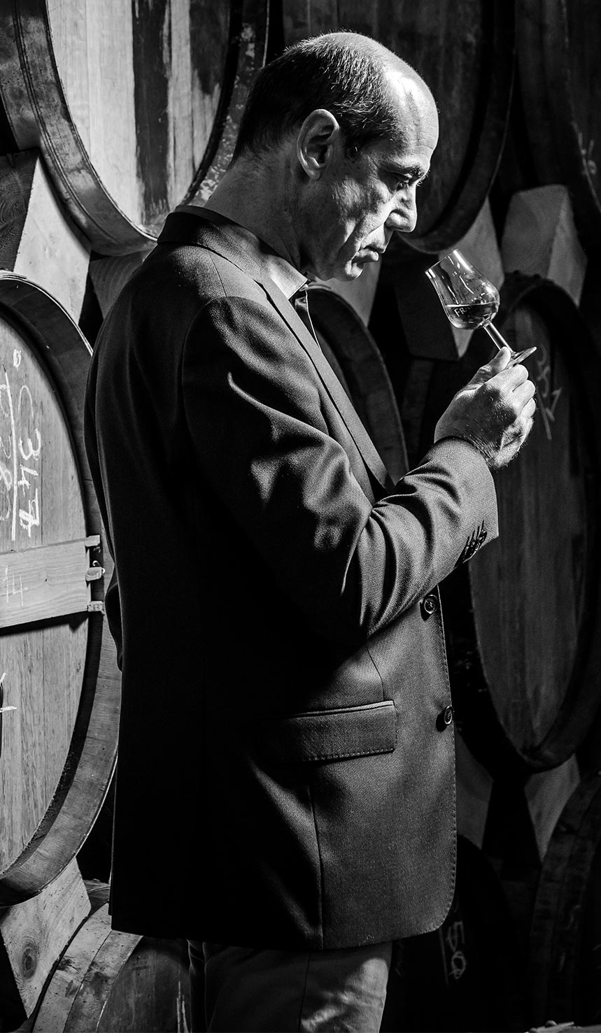 vieillissement chais cognac Frapin