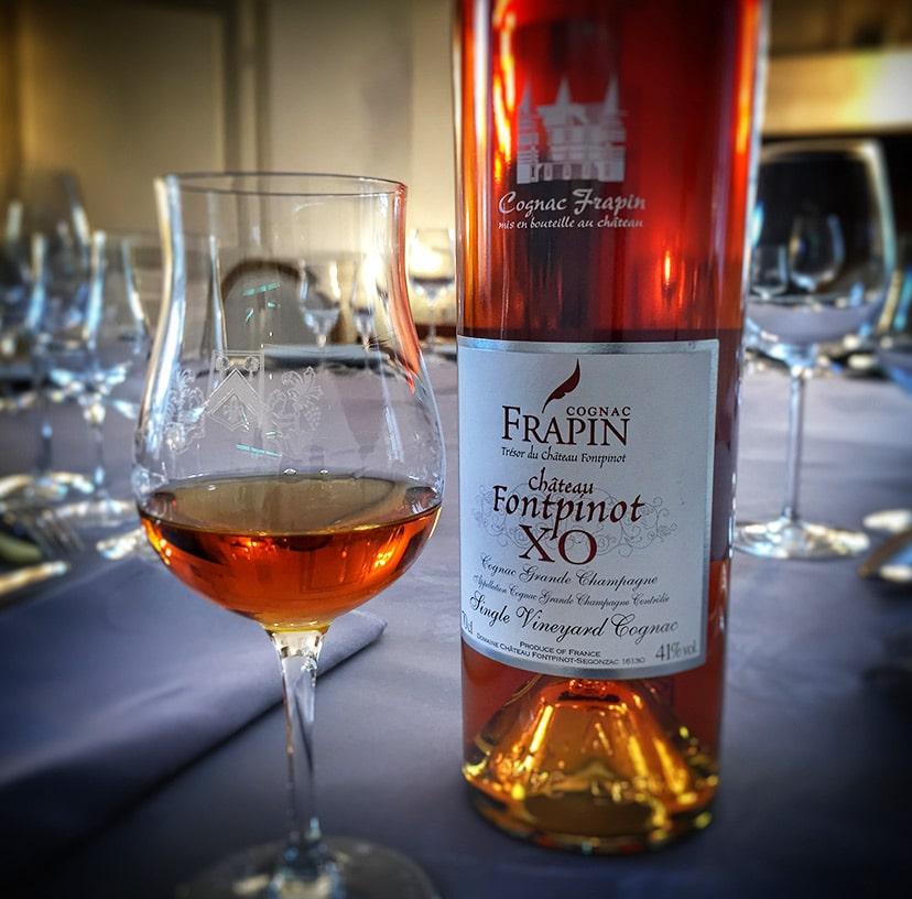 Accords cognac Frapin Fontpinot XO