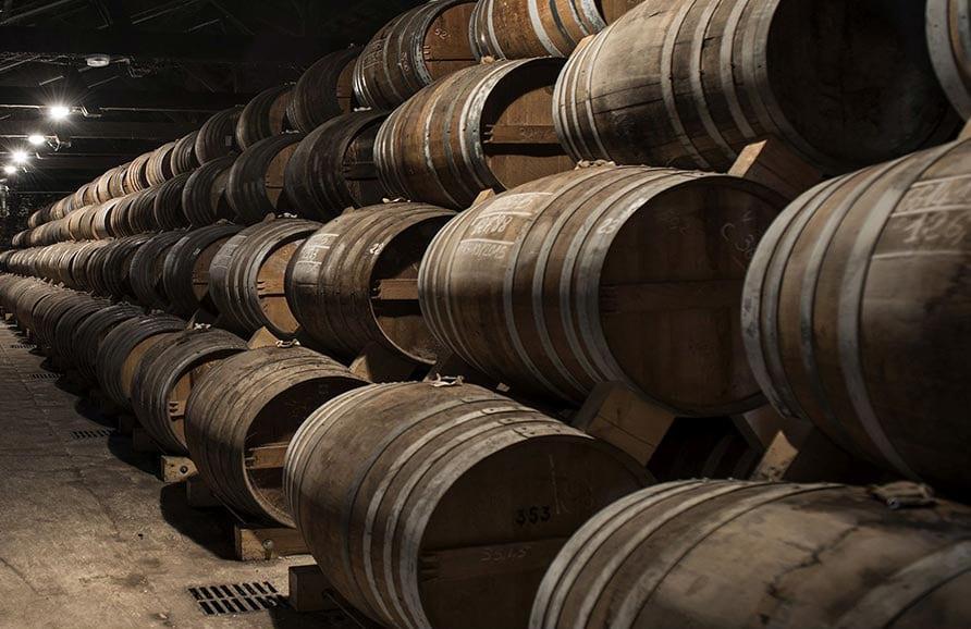 chais humides vieillissement cognac Frapin