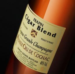 Cigar Blend en bouche cognac Frapin
