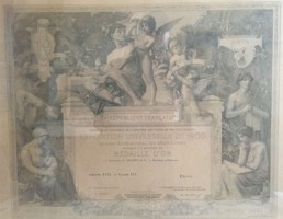 histoire 1900 cognac Frapin
