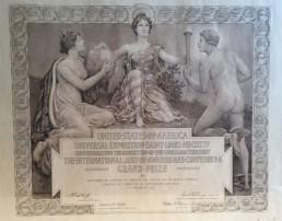 histoire 1904 cognac Frapin