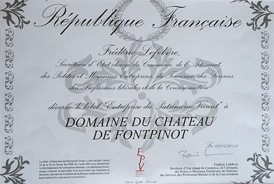 histoire 2012 cognac Frapin