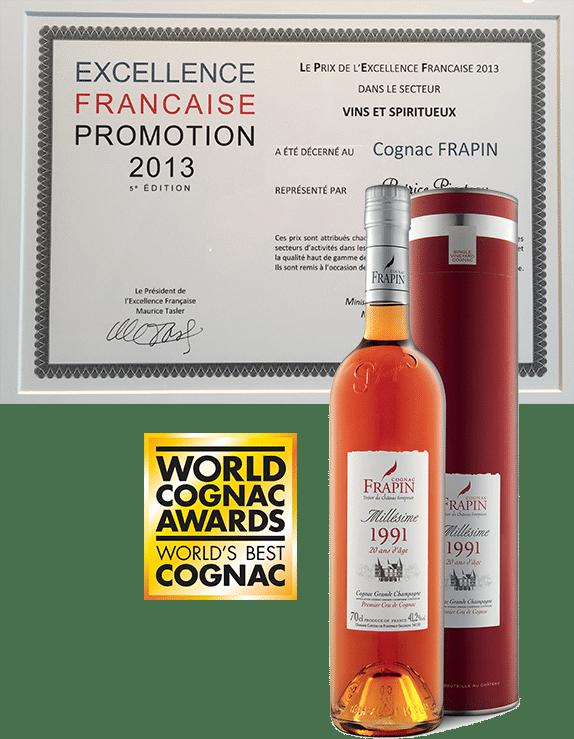 histoire 2013 cognac Frapin