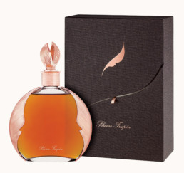 Plume couleur nez cognac Frapin